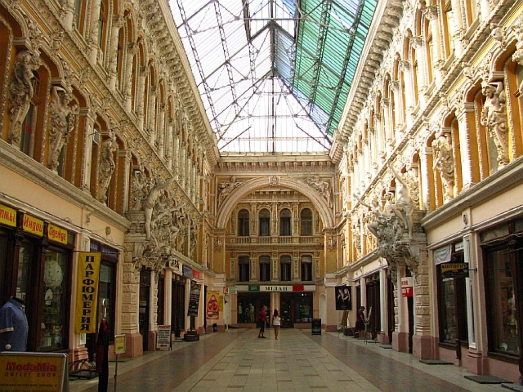 Zdjęcia: Odessa, Obwód Odeski, ulica Derybasiwska - pasaż, UKRAINA