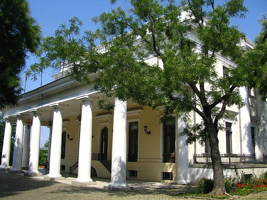 Zdjęcia: Odessa, Obwód Odeski, Bulwar Nadmorski - pałac Woroncowa, UKRAINA