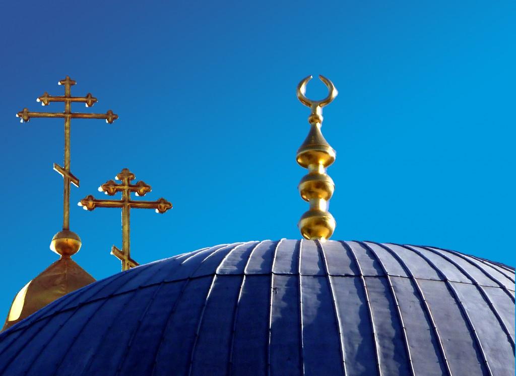 Zdjęcia: Cerkiew św.Katarzyny/pałac chanów, Teodozja/Bakczysaraj, Krymski kolaż, UKRAINA