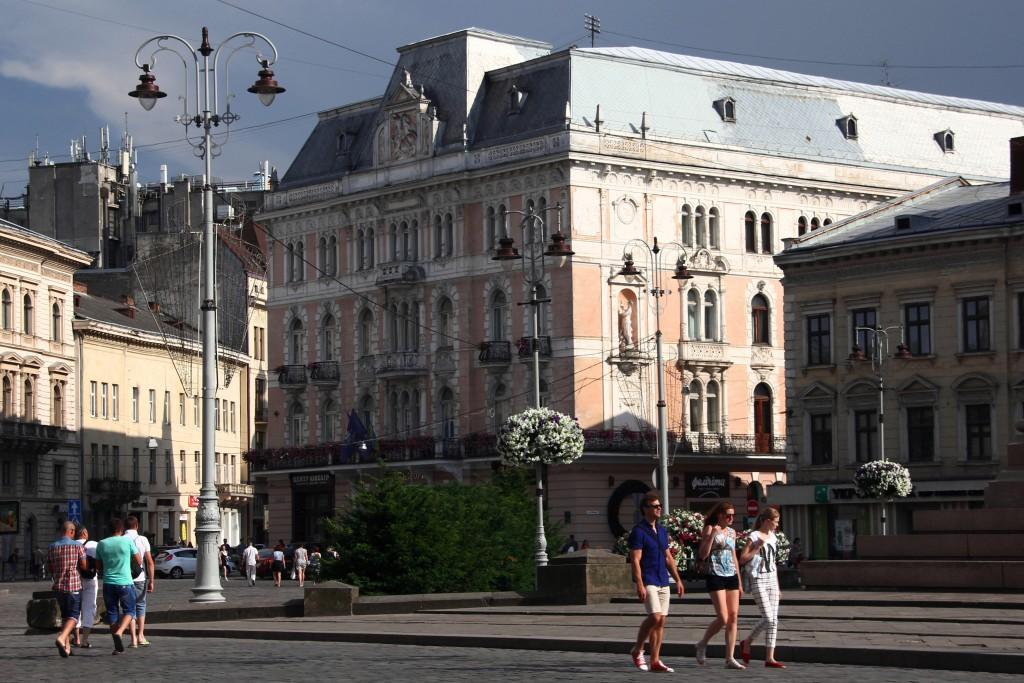 Zdjęcia: Lwów, Zachodnia Ukraina, Kultowy Hotel George, UKRAINA