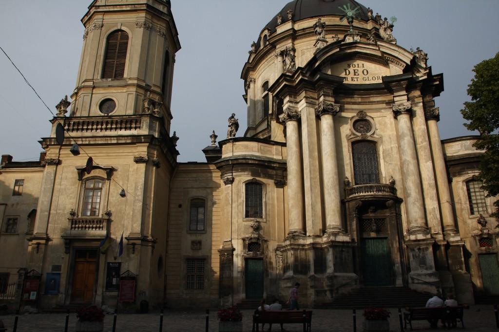 Zdjęcia: Lwów, Zachodnia Ukraina, Kościół Dominikanów, UKRAINA