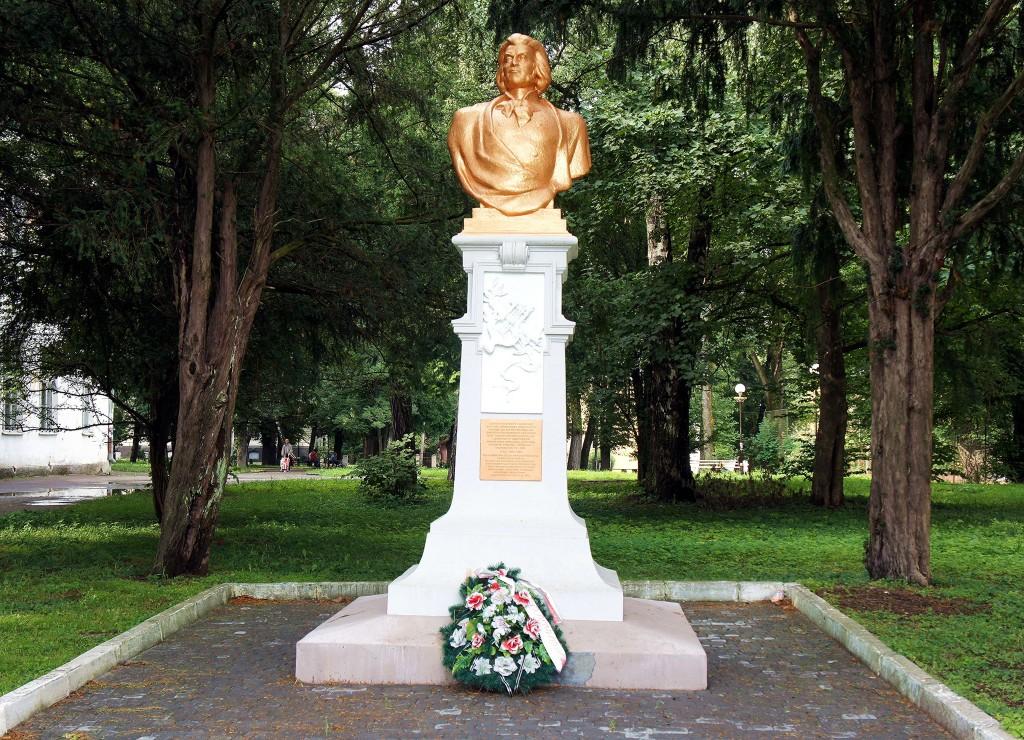 Zdjęcia: Drohobycz, Aglomeracja Drohobycko-Borysławska, Pomnik Adama Mickiewicza, UKRAINA