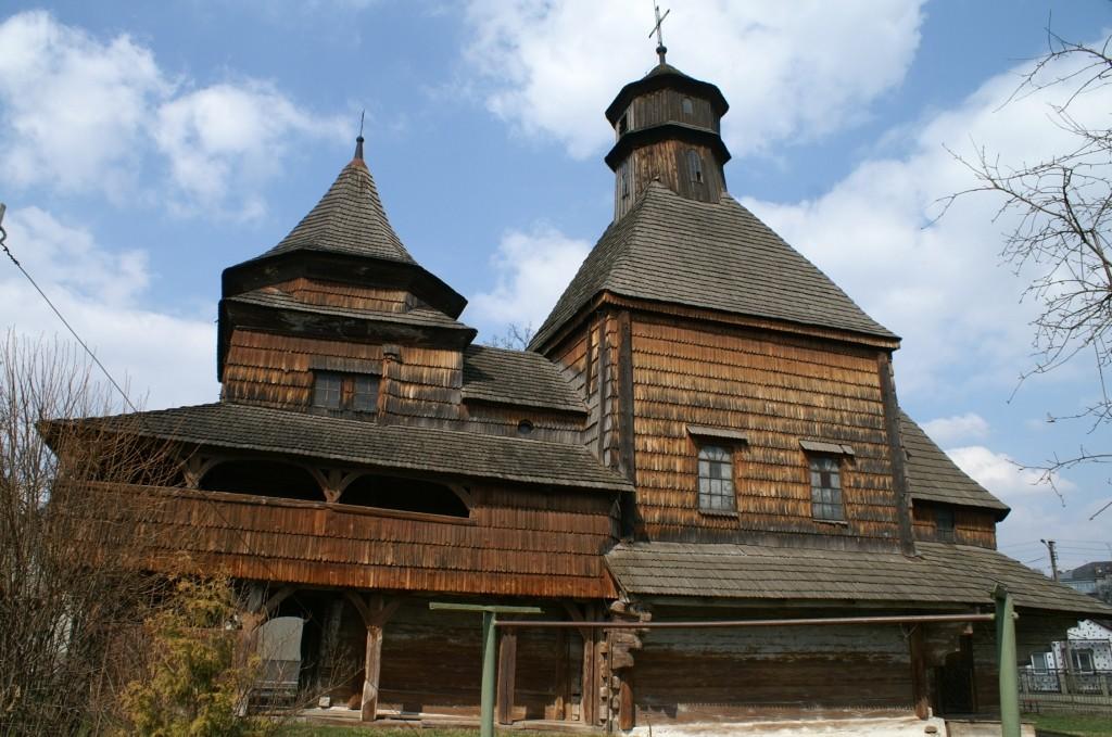 Zdjęcia: Drohobycz, obwód lwowski, cerkiew Podwyższenia Krzyża, UKRAINA