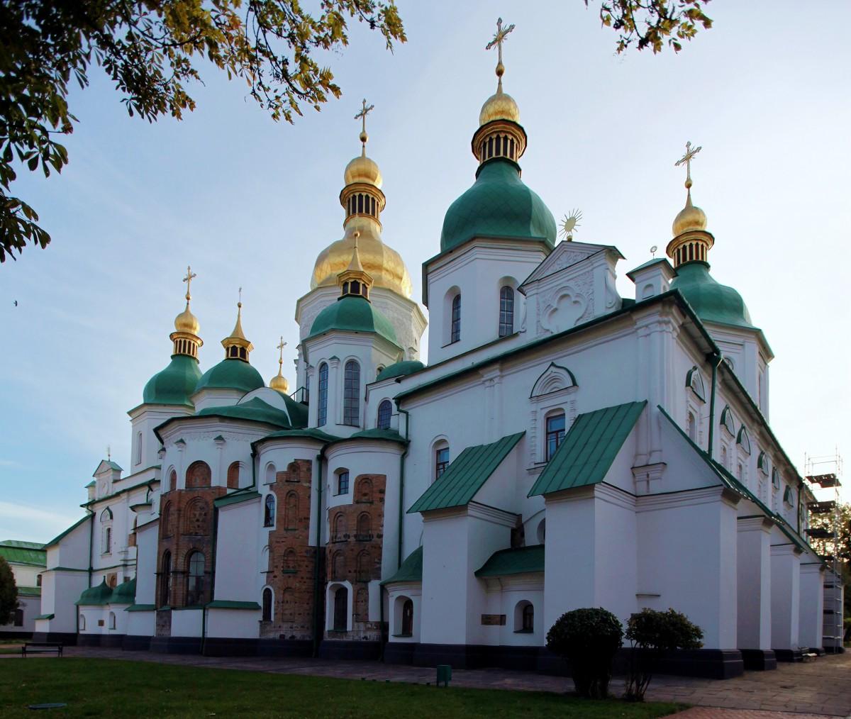 Zdjęcia: Sofijski Sobór , Kijów, Sobór Mądrości Bożej, UKRAINA