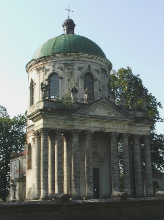 Zdjęcia: Podhorce, Obwód lwowski, rejon brodzki , Zamkowy, barokowy kościół , UKRAINA
