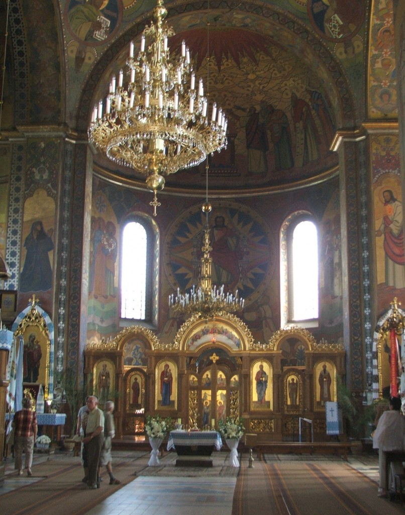 Zdjęcia: Żółkiew, Obwód lwowski, Wnętrze greko-katolickiej cerkwi Serca Chrystusowego w Żółkwi, UKRAINA