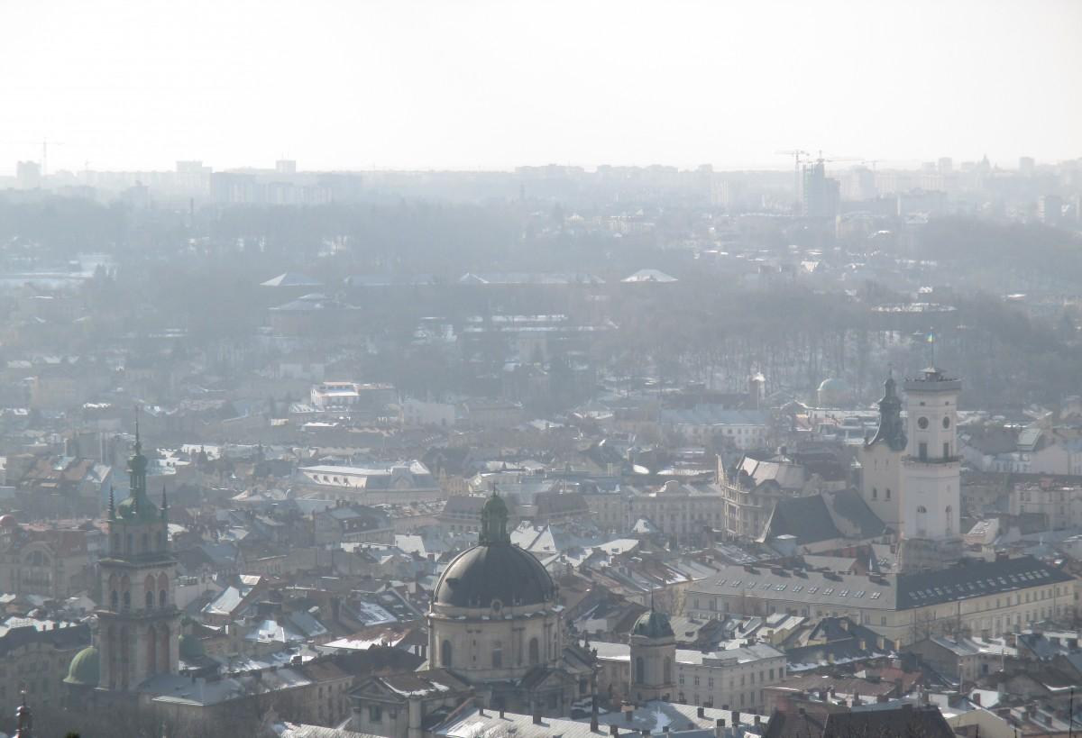 Zdjęcia: Lwów, Lwów, Lwów - widok z Wysokiego Zamku, UKRAINA