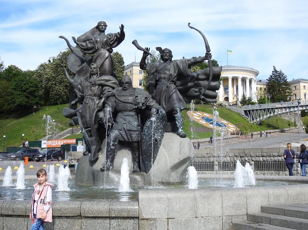 Zdjęcia: Kijów, Kijów, Na Majdanie, UKRAINA