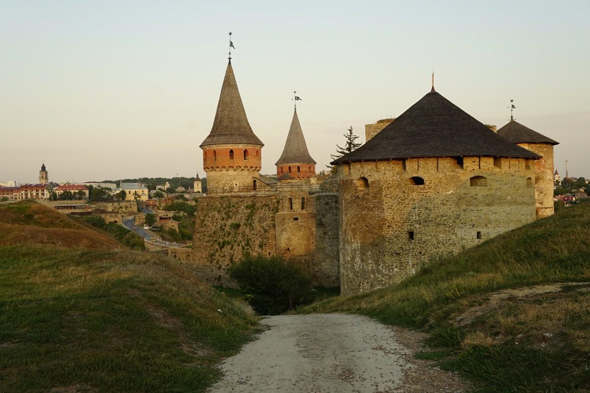 Zdjęcia: Kamieniec Podolski, Chmielnicki, Zamek, UKRAINA