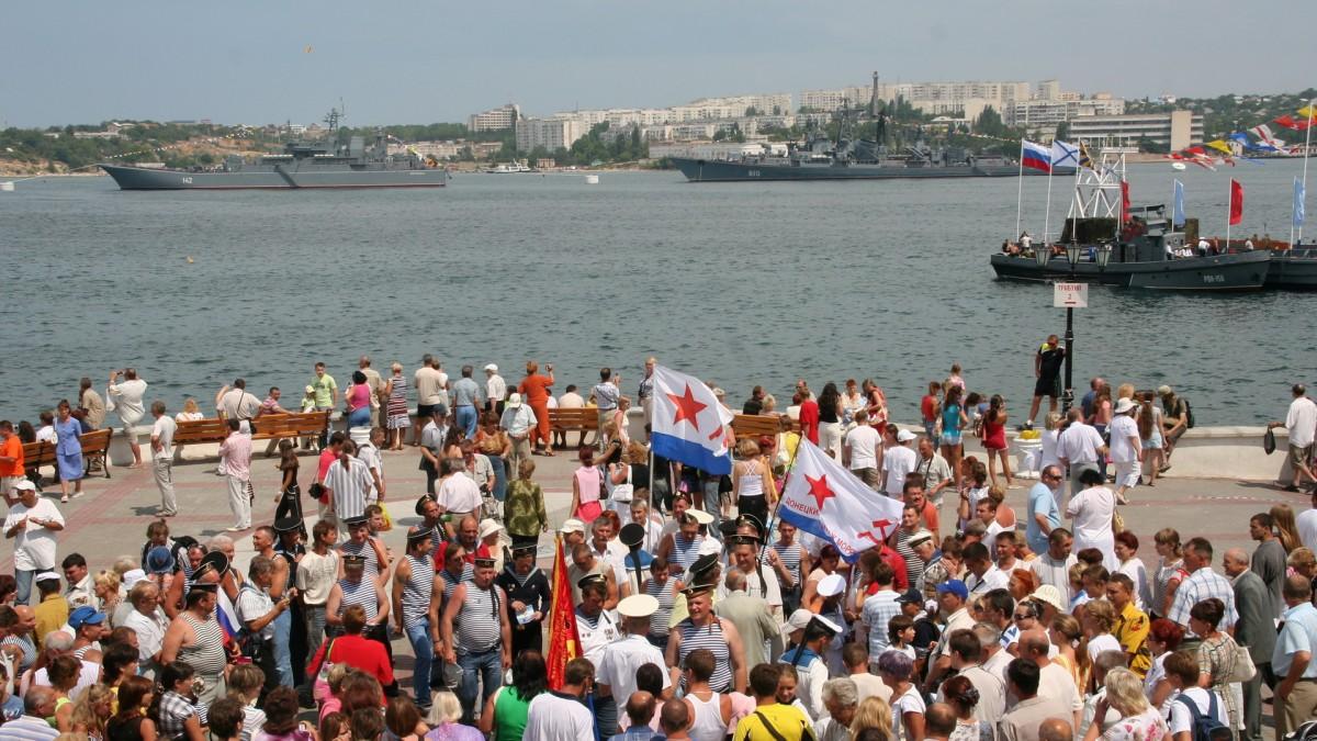 Zdjęcia: Sewastopol, Krym, Sewastopol. Dzień Marynarki Wojennej., UKRAINA