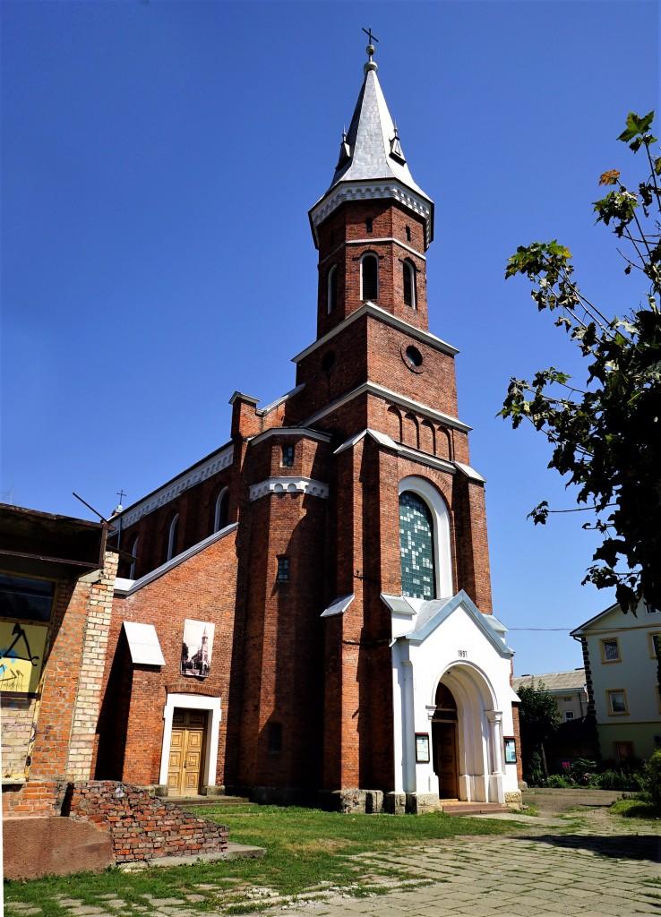 Zdjęcia: Kołomyja , Obwód Iwanofrankiwski, Kościół pw. św. Ignacego Loyoli, UKRAINA