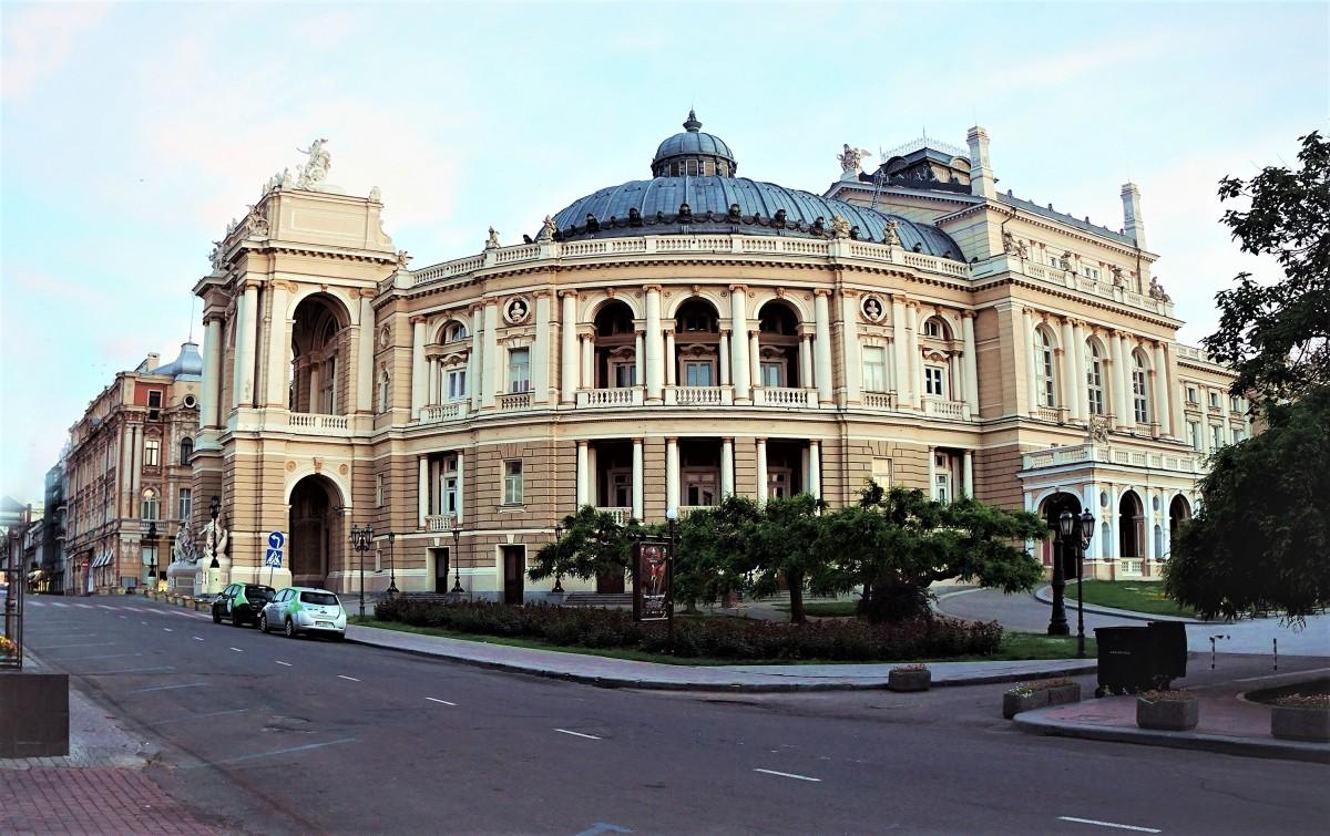 Zdjęcia: ul. Czajkowskiego, Odessa, Teatr Opery i Baletu, UKRAINA