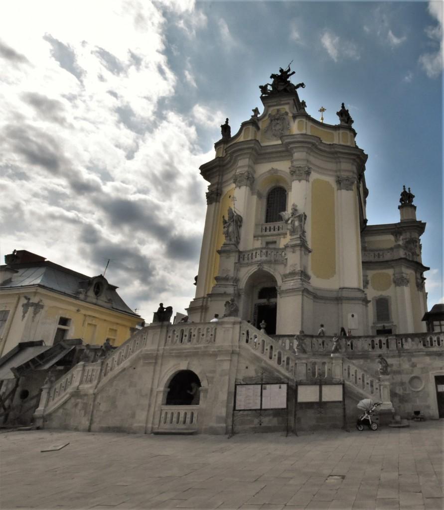 Zdjęcia: Lwów, Obwód lwowski, Lwów, katedra św. Jura, UKRAINA