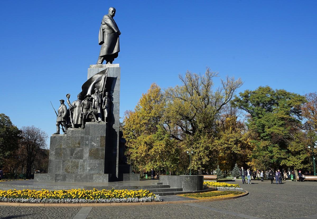 Zdjęcia: Park Szewczenki, Charków, Pomnik Tarasa Szewczenki, UKRAINA