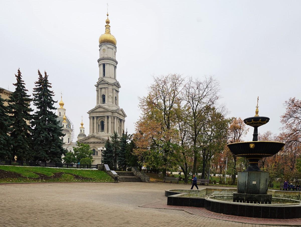 Zdjęcia: ., Charków, Widok na Sobór Zaśnięcia Matki Bożej, UKRAINA