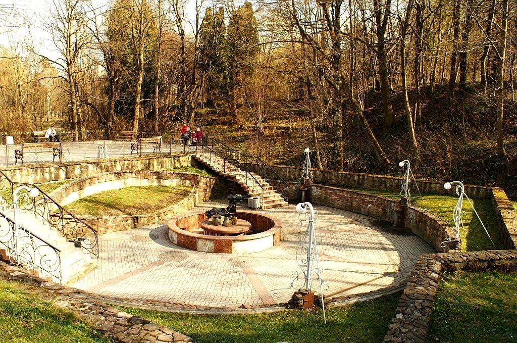 Zdjęcia: Truskawiec, Ukraina Zachodnia, park zdrojowy, UKRAINA