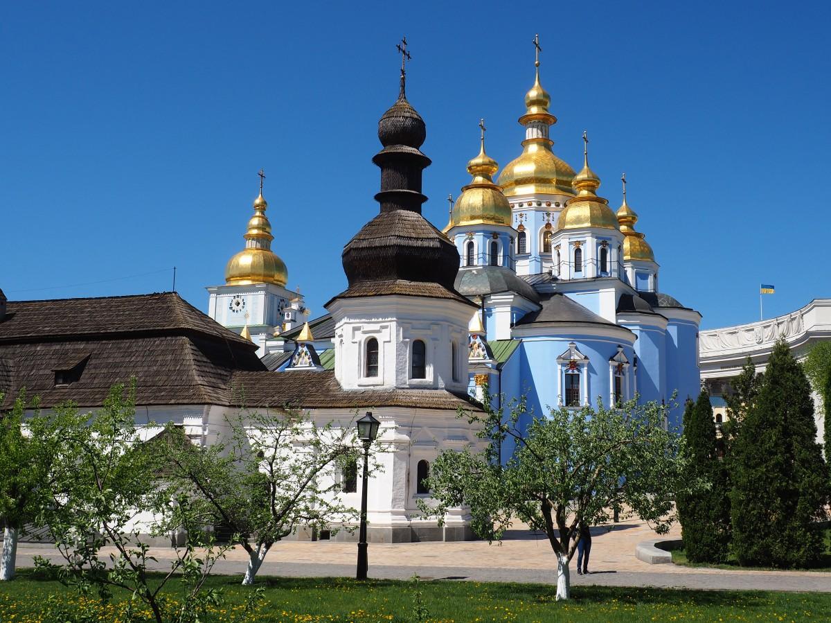 Zdjęcia: Kijów, Obwód kijowski, Monaster św. Michała Archanioła (III), UKRAINA