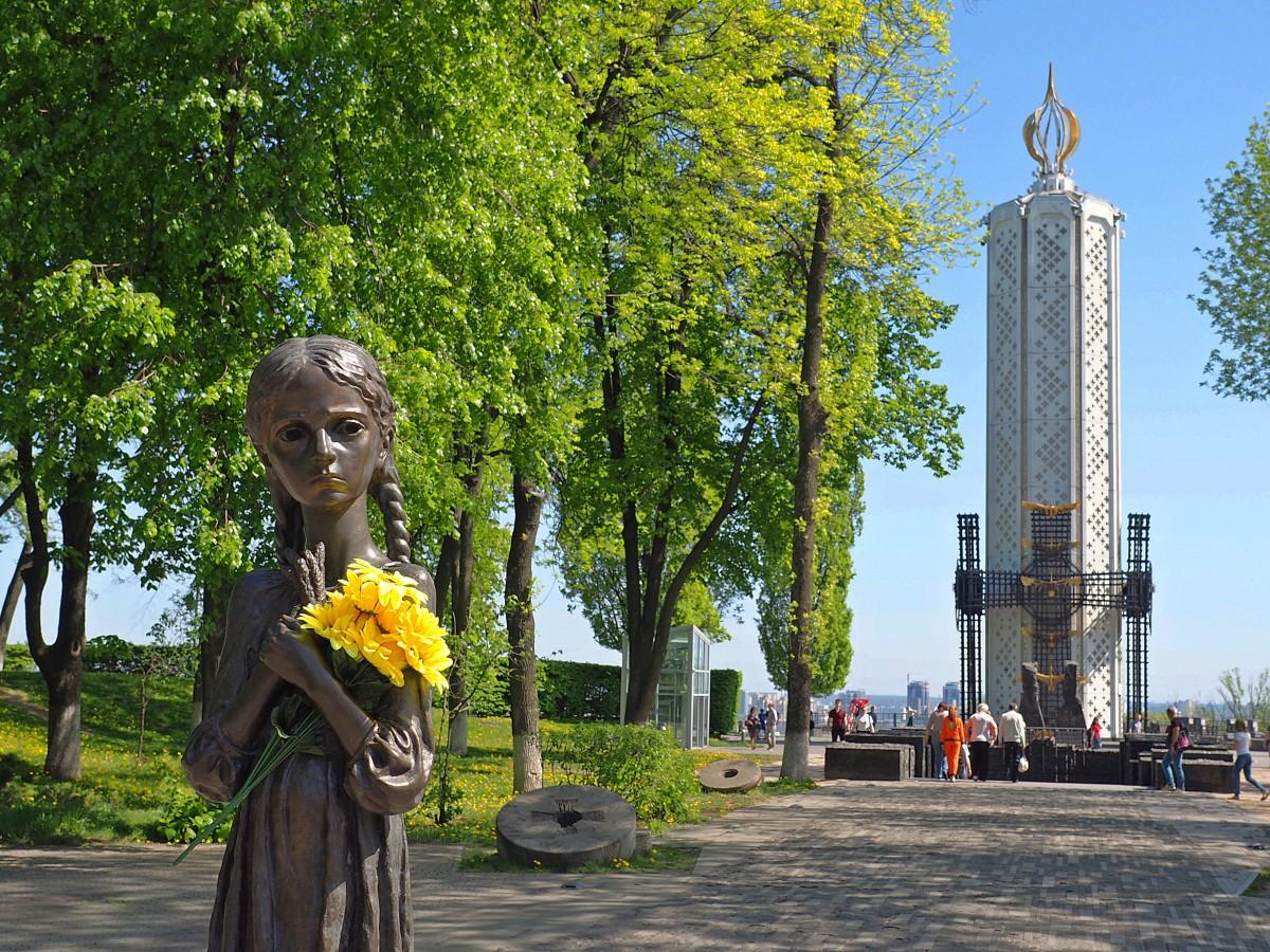 Zdjęcia: Kijów, Obwód kijowski, Pamięci Ofiar Wielkiego Głodu, UKRAINA