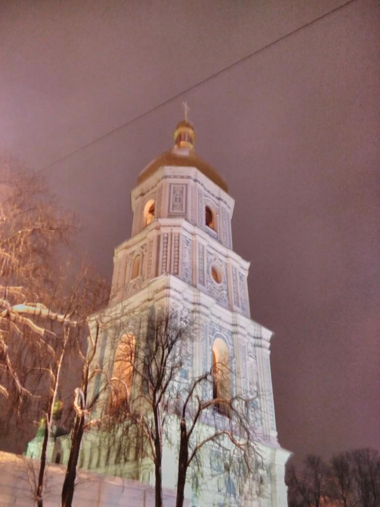 Zdjęcia: Plac Sofijowski, Kijów, Katedra Sofia Kijowska, UKRAINA