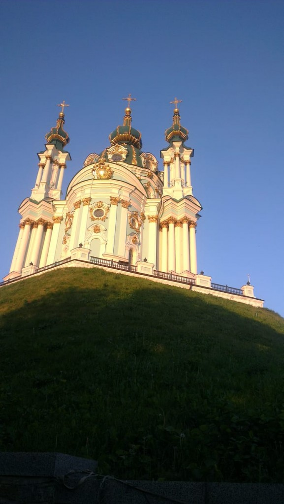 Zdjęcia: Zejście św. Andrzeja, Kijów, Kościół św. Andrzeja-2, UKRAINA