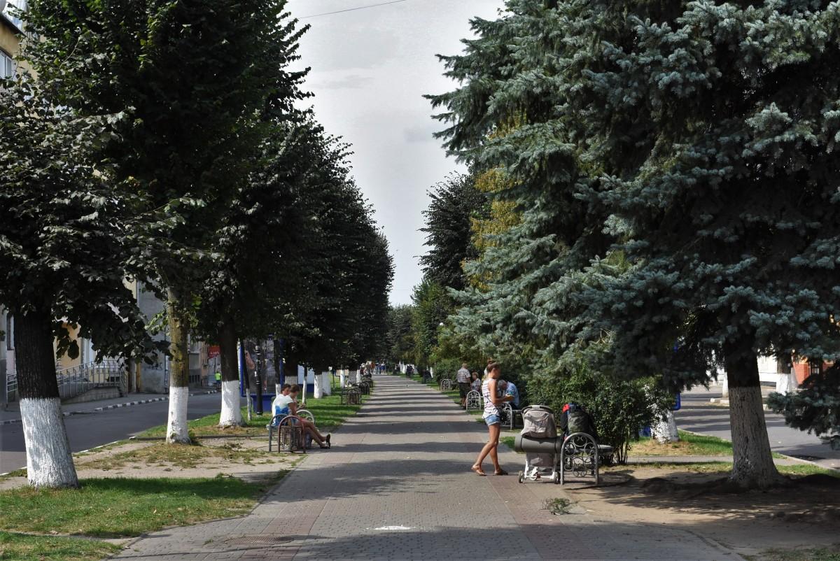 Zdjęcia: Stryj, Obwód Lwowski, Stryj, główny deptak miasta, UKRAINA