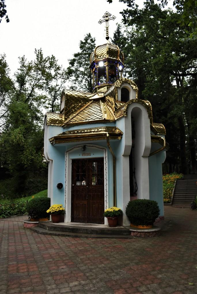 Zdjęcia: Morszyn koło Stryja, Obwód Lwowski, Morszyn, kapliczka, UKRAINA