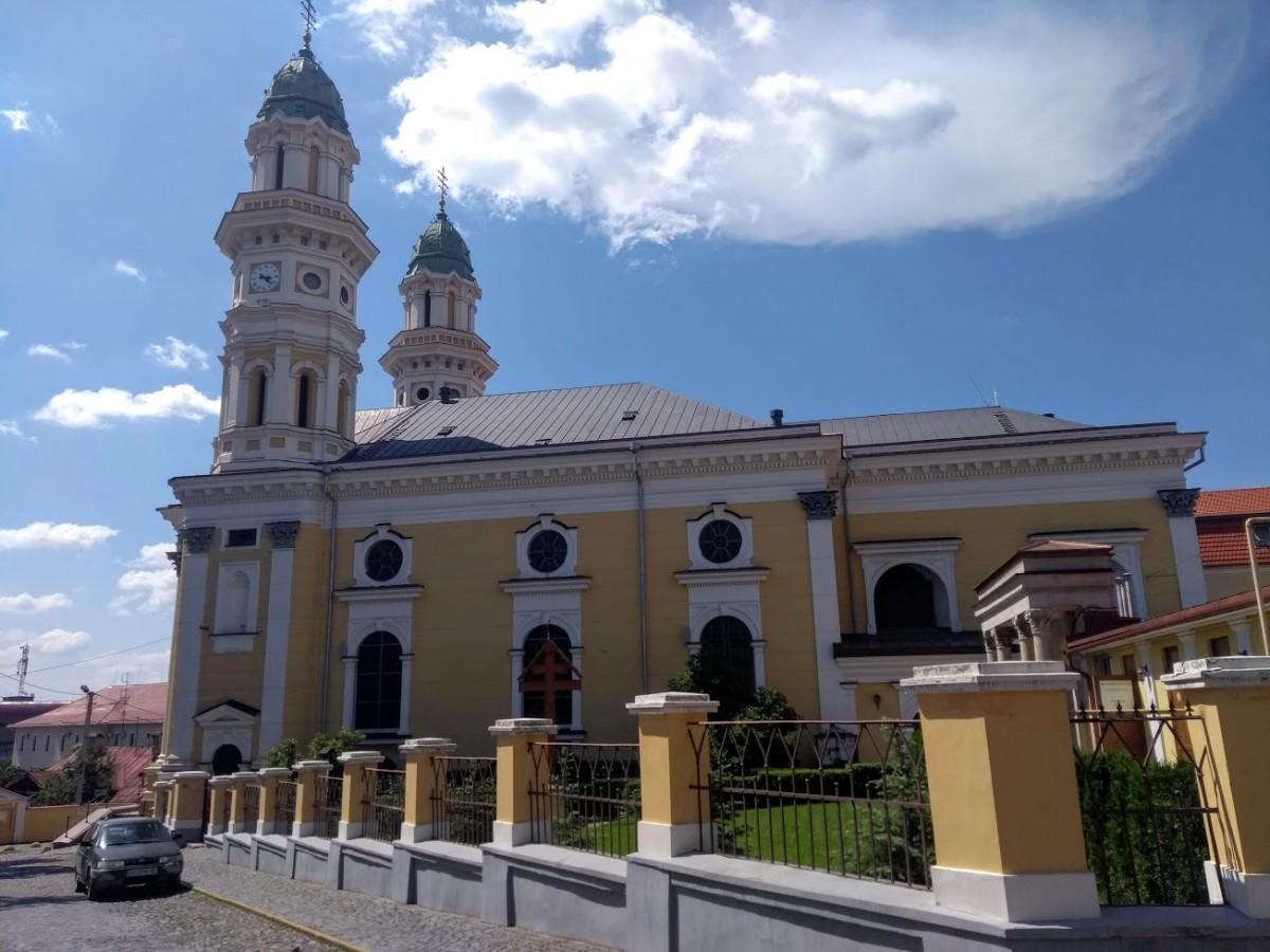 Zdjęcia: Użhorod, Zakarpacie, Katedra, UKRAINA