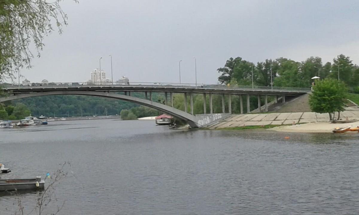 Zdjęcia: Most Wenecki, Kijów, Hydropark nad brzegiem Dniepra 10, UKRAINA