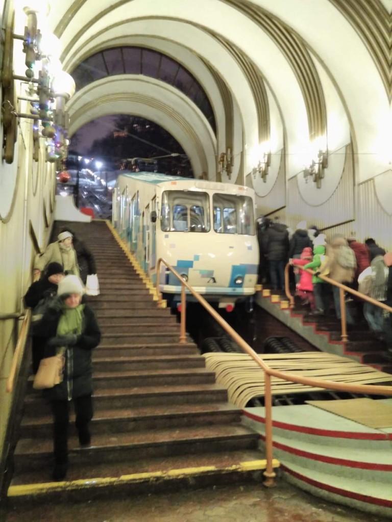 Zdjęcia: Podol, Kijów, Kolejka linowa w Kijowie, UKRAINA