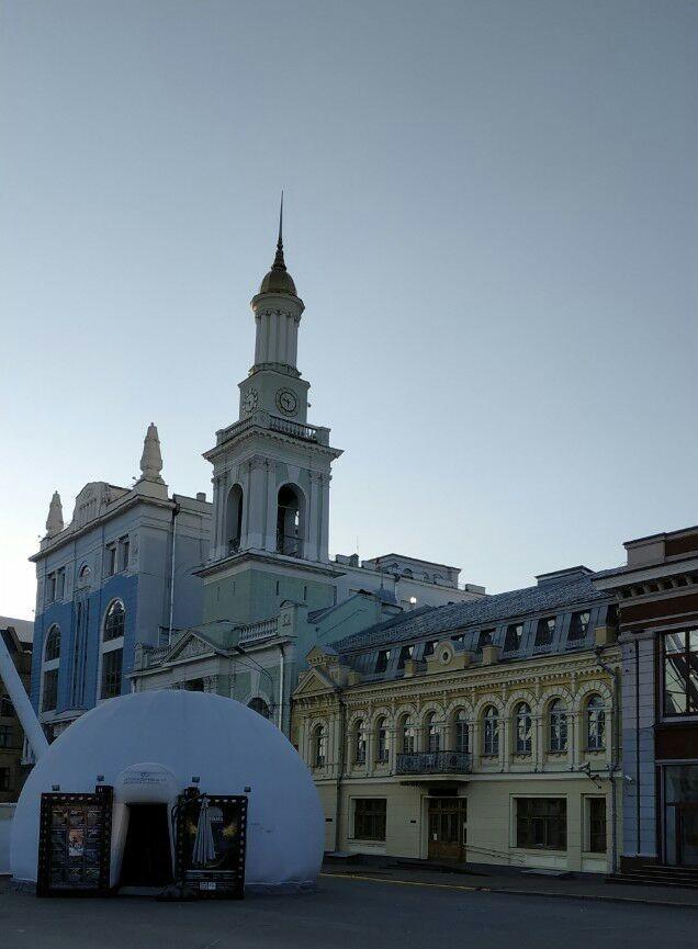 Zdjęcia: Plac Kontraktowy, Kijów, Kościół św. Katarzyny-3, UKRAINA