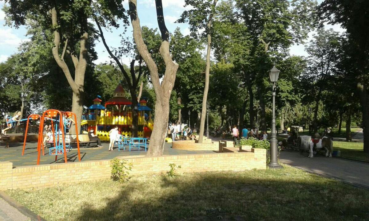 Zdjęcia: Park Wołodymesrska Górka, Kijów, Park Włodzimierska górka-2, UKRAINA