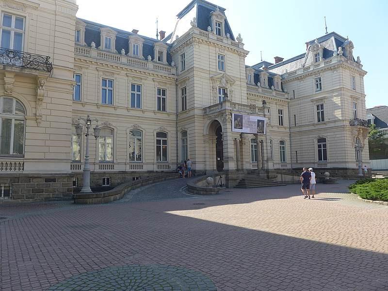 Zdjęcia: Lwów, Lwów, Pałac Potockich we Lwowie, UKRAINA