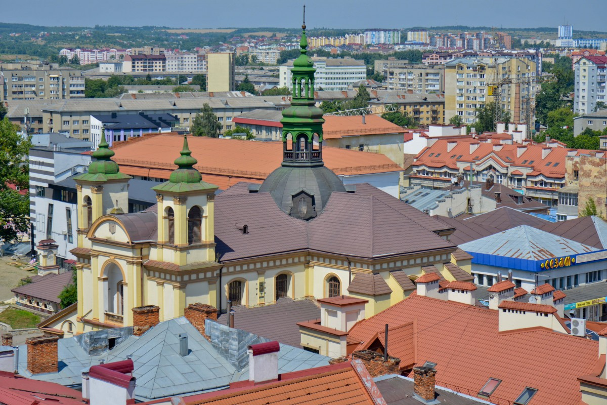 Zdjęcia: Iwano- Frankiwsk, Zachodnia Ukraina, Iwano-Frankiwsk, albo, jak kto woli, Stanisławów, UKRAINA