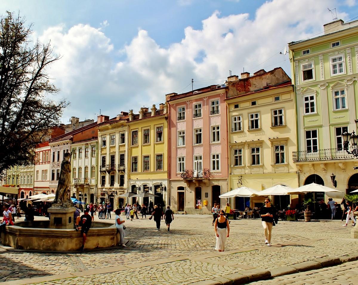 Zdjęcia: Lwów, obwód lwowski, Rynek we Lwowie, UKRAINA