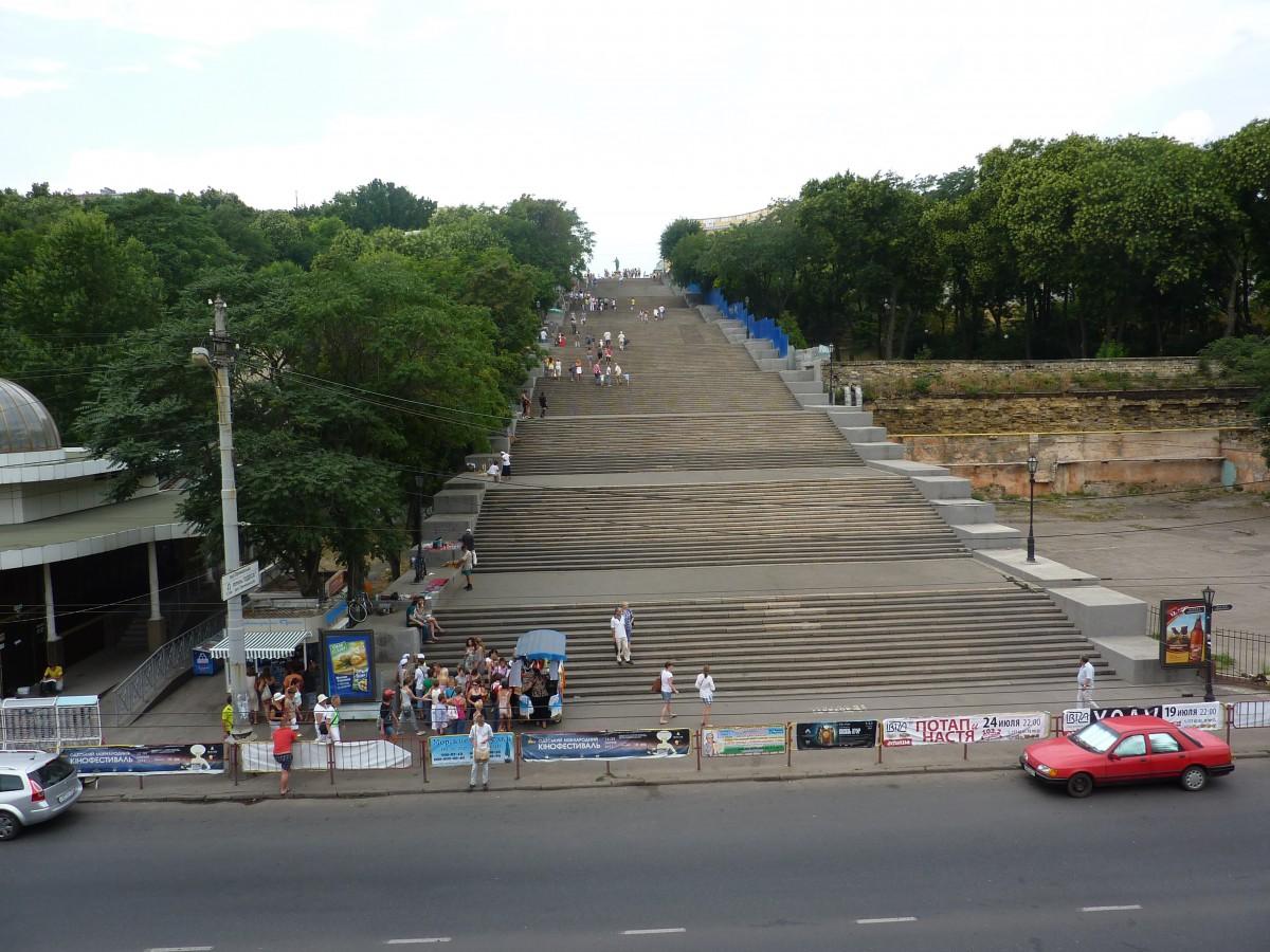 Zdjęcia: Odessa, Bardzo dlugie schody, UKRAINA