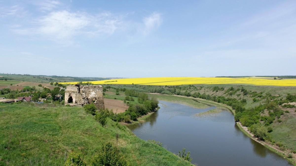 Zdjęcia: Żwaniec, Podole, Pozostałości po zamku w Żwańcu, UKRAINA