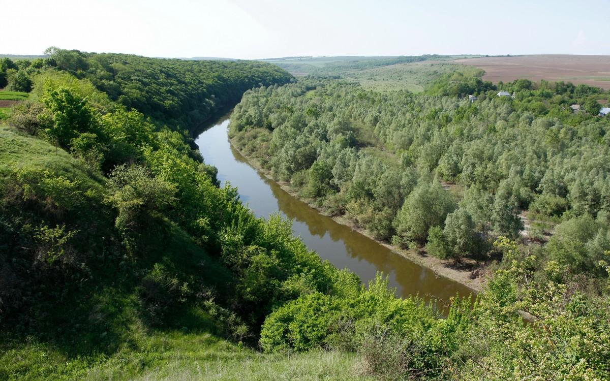 Zdjęcia: Okopy Św. Trójcy, Podole, Zbrucz w Okopach Św. Trójcy, UKRAINA