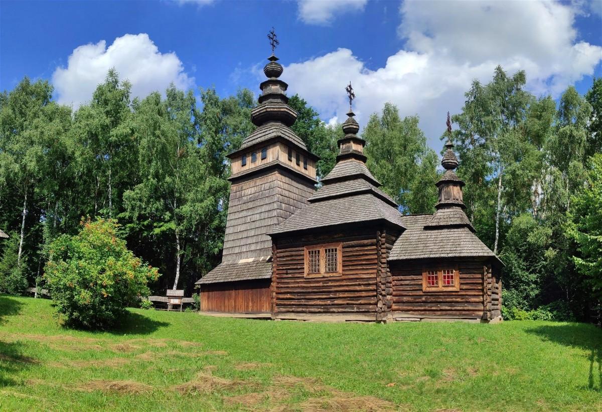 Zdjęcia: Lwów, Obwód lwowski, Cerkiew w Szewczenkowskim Gaju, UKRAINA