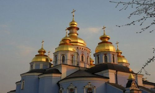 UKRAINA / - / Kijów / Cerkiew Św. Michała w Kijowie