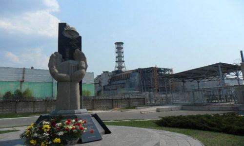 UKRAINA / - / Czernobyl / Reaktor nr 4 w Czernobylu