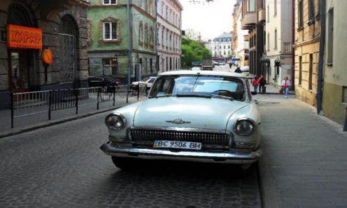 UKRAINA / - / Lwów, Ukraina / Lwowska ulica