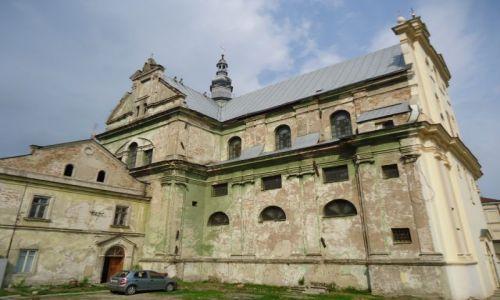 Zdjęcie UKRAINA / Województwo Lwowskie / Żółkiew / Żółkiew - kościół Dominikanów
