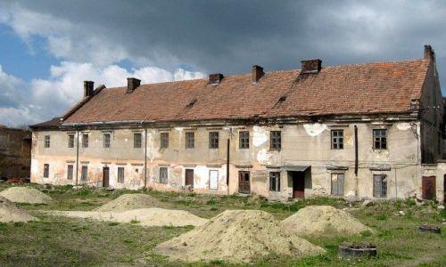 Zdjęcie UKRAINA / Lwowski / Żółkiew / zamek Sobieskich [ prawe skrzydło] wewnątrz