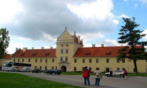 Zdjęcie UKRAINA / Lwowski / Żółkiew / zamek Sobieskich