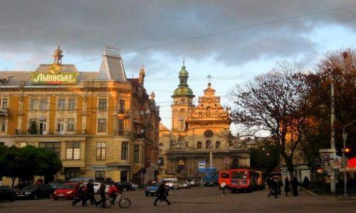 Zdjęcie UKRAINA / Lwowski / Lwów / kompleks dominikański z kościołem św. Andrzeja