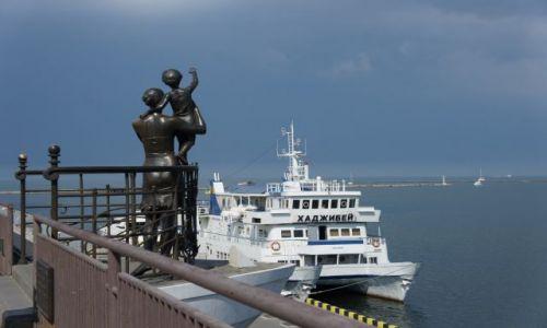 Zdjęcie UKRAINA / - / Odessa / Pomnik Oczekujących rodzin na powrót marynarzy