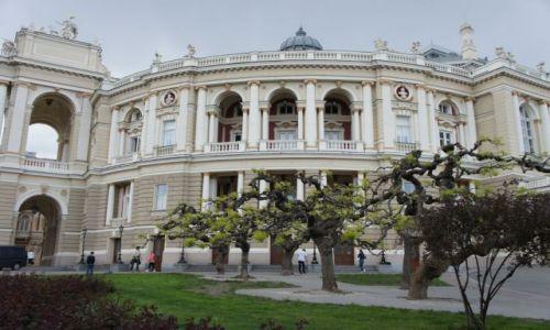 Zdjęcie UKRAINA / - / Odessa / Teatr Opery i Baletu od strony skweru