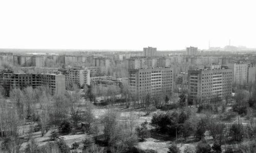 Zdjecie UKRAINA / - / strefa zero / Blokowiska w których nikt nie zamieszka