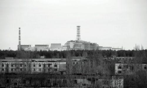 Zdjecie UKRAINA / - / strefa zero / Nad miastem króluje blok nr4