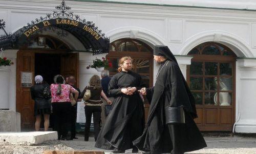 Zdjecie UKRAINA / - / Kijów Ławra Kijowsko-Peczerska / Wejście do pieczar, czyli serca Ławry